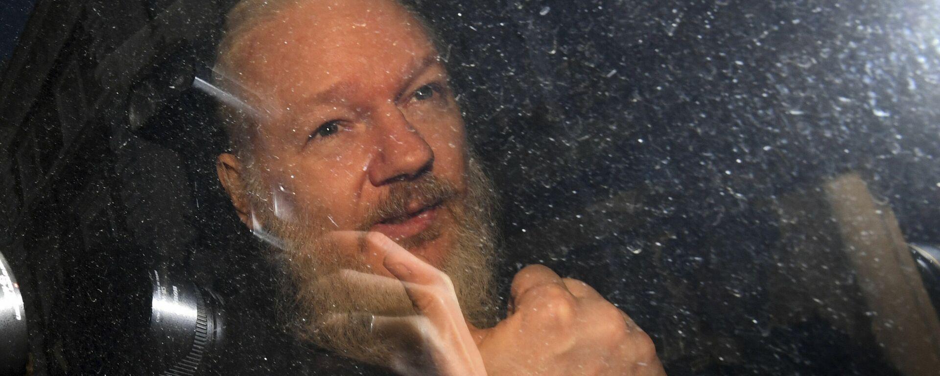 Zakladatel WikiLeaks Julian Assange - Sputnik Česká republika, 1920, 07.06.2021