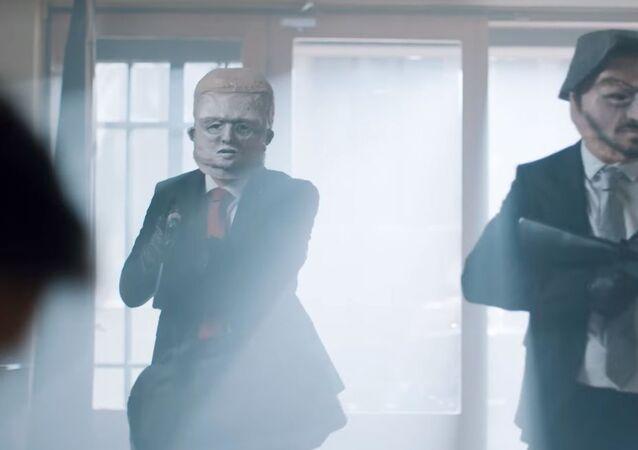 """""""Liberálové vyhlásili válku!"""" Blaha se ostře pustil do Trubana kvůli propagačnímu videu, ve kterém Fico okrádá babičku"""