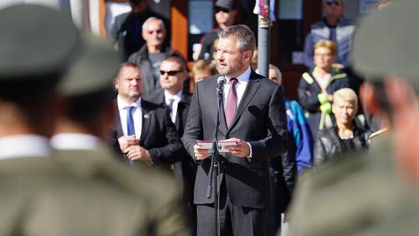 Bývalý slovenský premiér Peter Pellegrini - Sputnik Česká republika