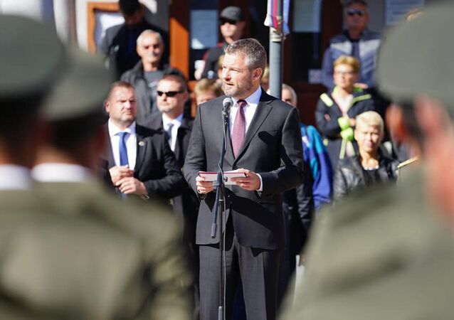 Bývalý slovenský premiér Peter Pellegrini