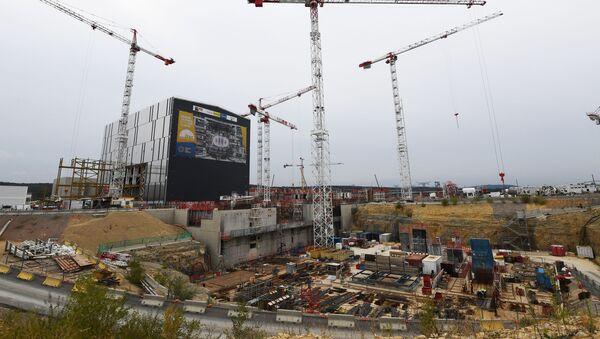 Stavba Mezinárodního termonukleárního experimentálního reaktoru (ITER) na jihu Francie - Sputnik Česká republika