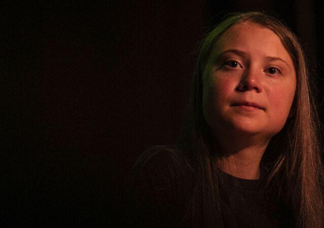 Švédská aktivista Greta Thunbergová