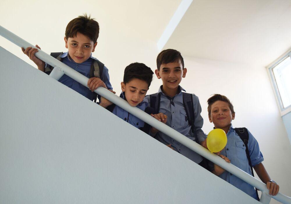 Jak vypadá skutečné přátelství: Rusko pomohlo Sýrii při obnově školy v Damašku