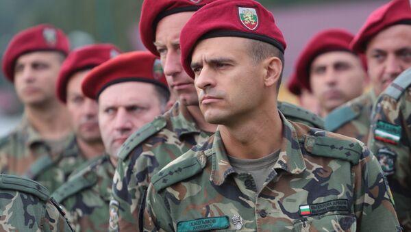Bulharští vojáci - Sputnik Česká republika