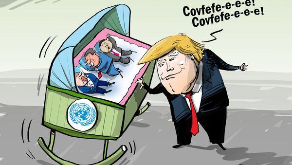 Trumpova ukolébavka - Sputnik Česká republika
