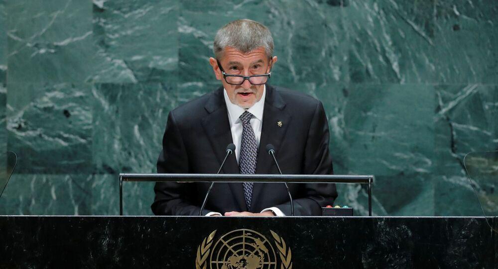 Andrej Babiš v OSN