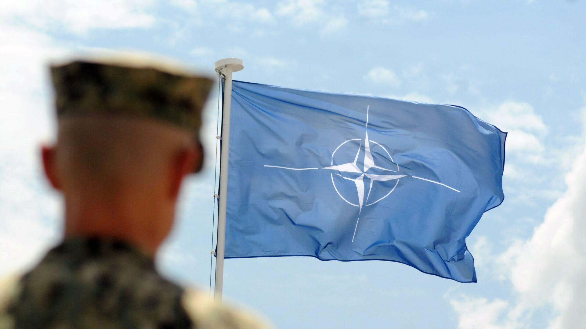 Vlajka NATO - Sputnik Česká republika, 1920, 21.04.2021
