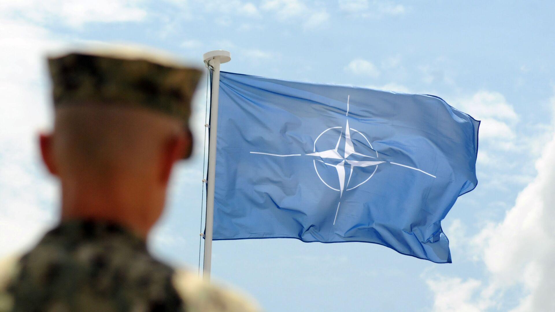 Vlajka NATO - Sputnik Česká republika, 1920, 08.07.2021