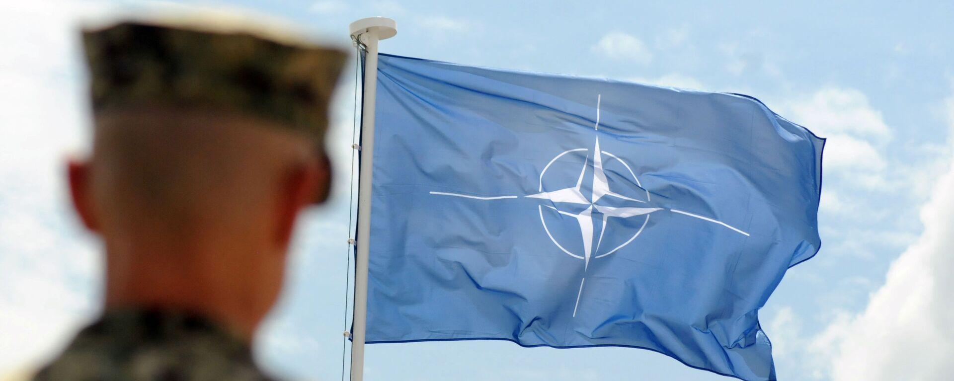 Vlajka NATO - Sputnik Česká republika, 1920, 07.05.2021