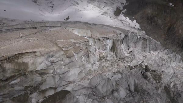 Video: Ledovec Mont Blanc je na pokraji zhroucení - Sputnik Česká republika