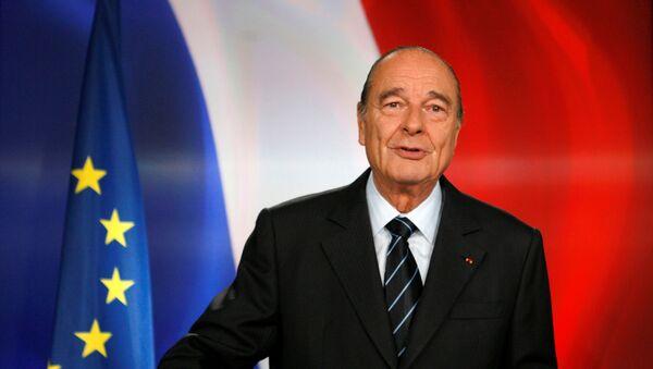 Bývalý francouzský prezident Jacques Chirac - Sputnik Česká republika
