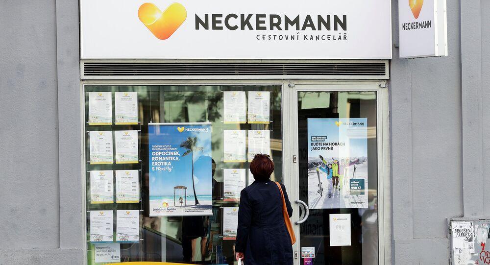 Pobočka Neckermann v Praze