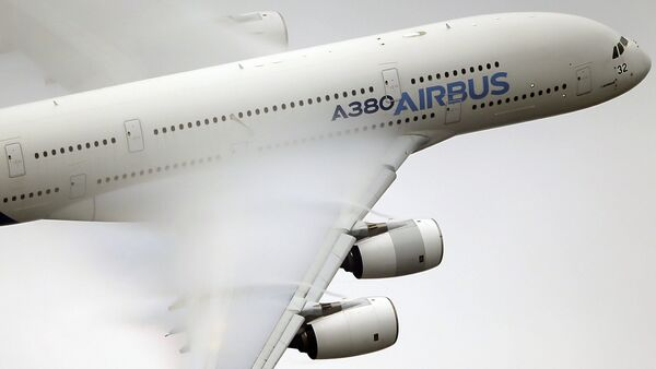 Airbus A380  - Sputnik Česká republika