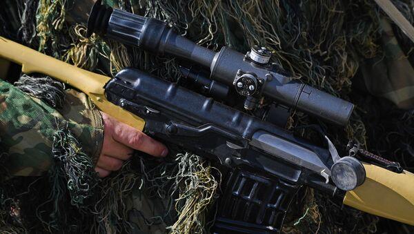 Odstřelovací puška Dragunova (SVDK) - Sputnik Česká republika