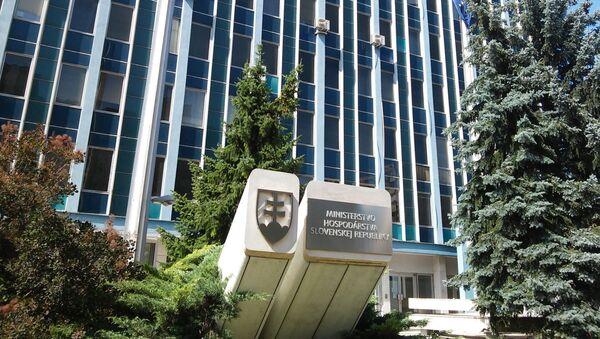 Budova slovenského ministerstva hospodářství - Sputnik Česká republika