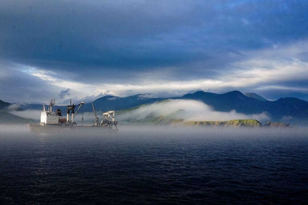 Krása Kurilských ostrovů