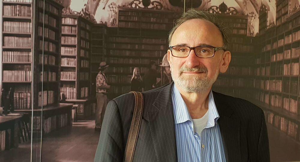Předseda Asociace nezávislých médií Stanislav Novotný
