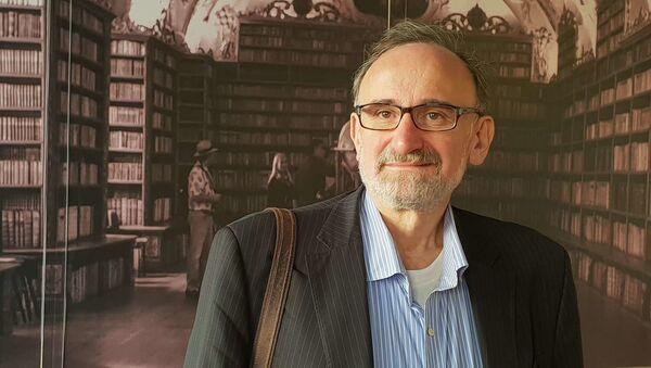 Předseda Asociace nezávislých médií Stanislav Novotný - Sputnik Česká republika