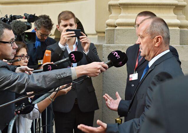 Ministr obrany SR Peter Gajdoš