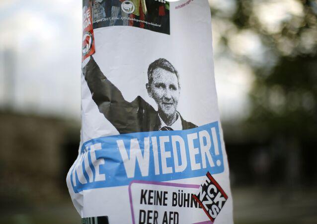 předseda krajské pobočky nacionalistické strany Alternativa pro Německo (AfD) Björn Höcke