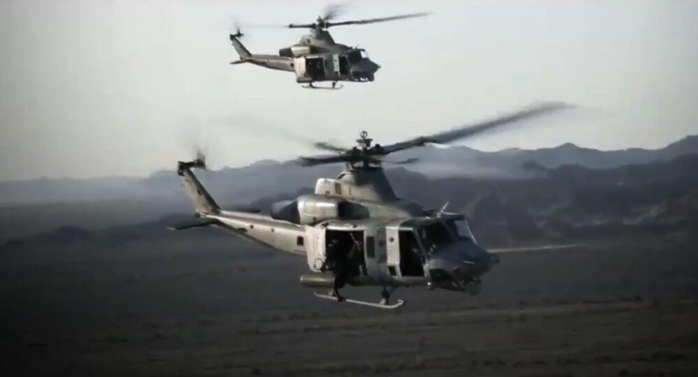Vrtulník české armády. Ilustrační foto