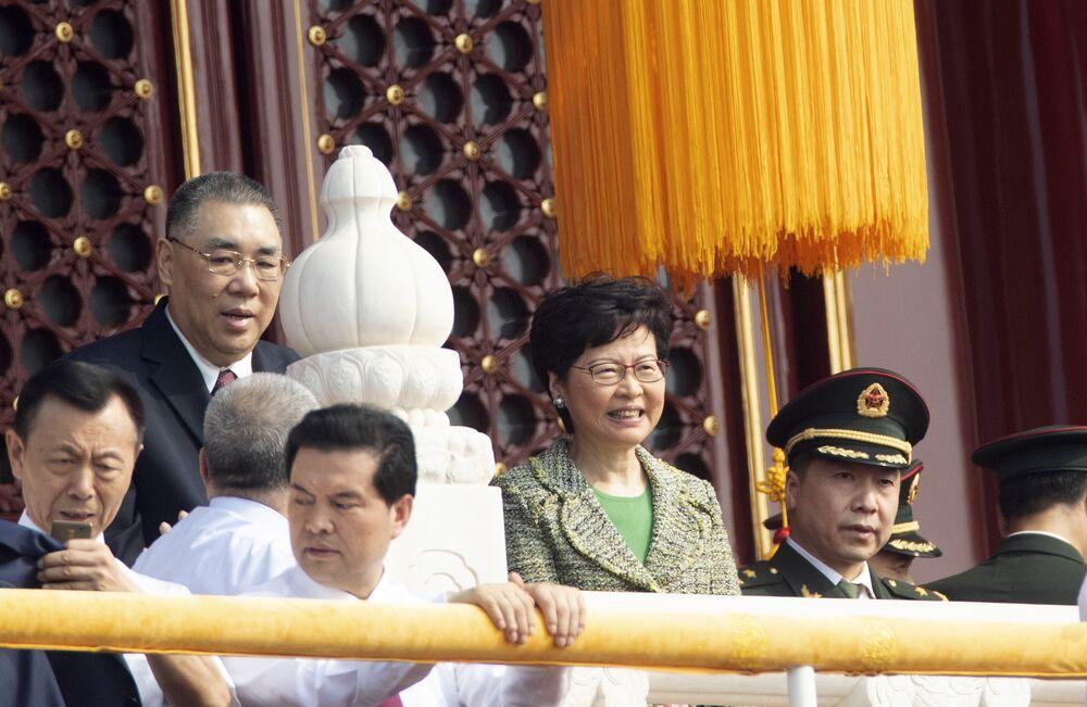 V Pekingu se koná rozsáhlá vojenská přehlídka u příležitosti 70. výročí založení Číny