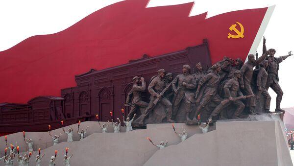 Vojenská přehlídka na počet 70. výročí vzniku ČLR v Pekingu (1. 10. 2019) - Sputnik Česká republika