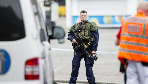 Důstojník finské policie (ilustrační foto) - Sputnik Česká republika