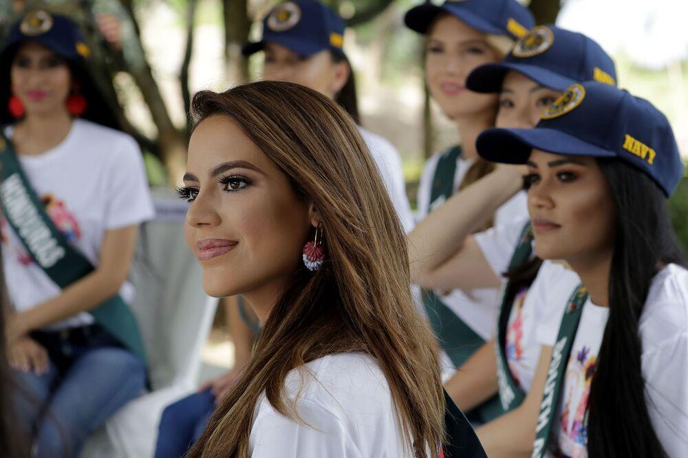 Uchazečka o titul Miss Earth 2019 ze Španělska, Sonia Romeo.