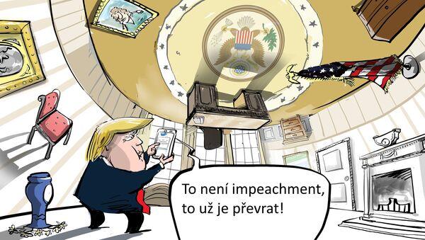 Impeachment Trumpa - Sputnik Česká republika