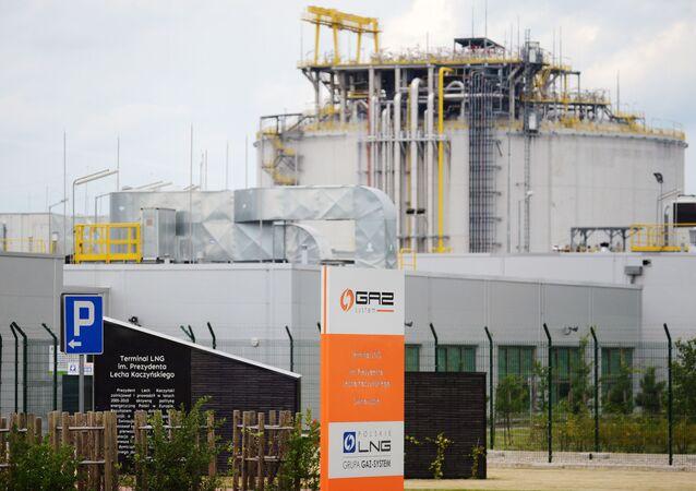 LNG terminál ve Svinoústí v Polsku
