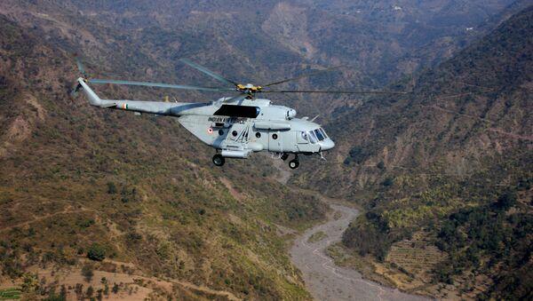 Vrtulník Mi-17 indického letectva - Sputnik Česká republika