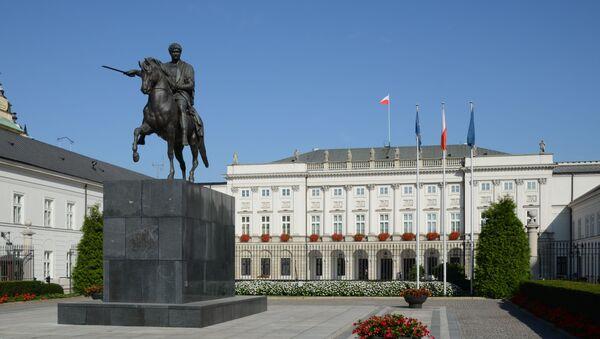 Prezidentský palác ve Varšavě - Sputnik Česká republika