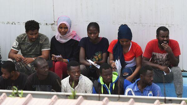 Migranti v Itálii. Illustrační foto - Sputnik Česká republika