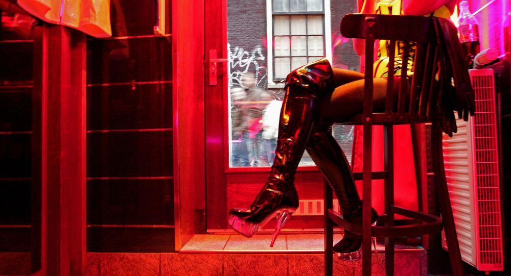 Prostituce. Illustráční foto