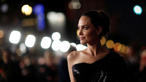 Анджелина Джоли на премьере фильма Малефисента: Владычица тьмы в Лос-Анджелесе - Sputnik Česká republika
