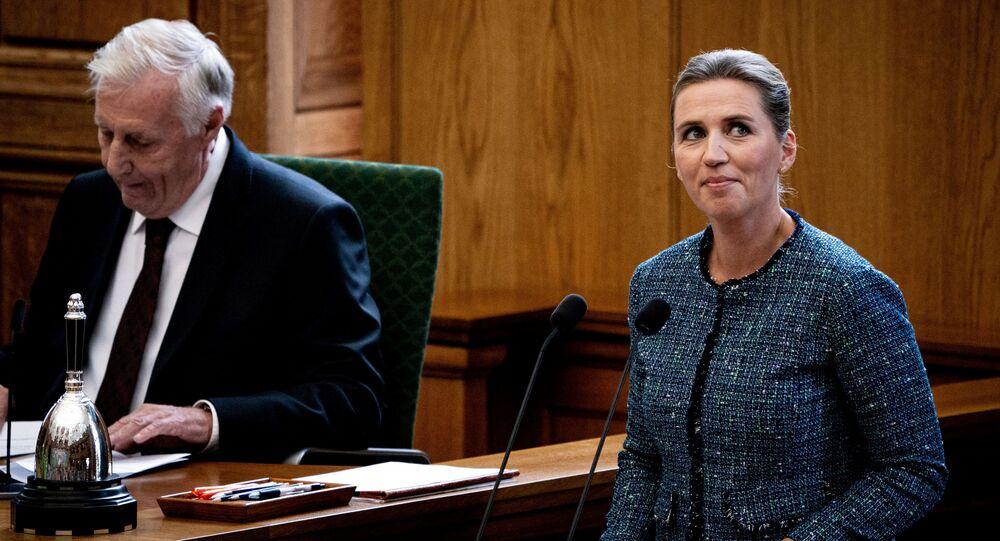 Dánská premiérka Mette Frederiksenová