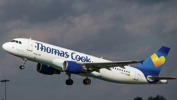 Letadlo společnosti A320 společnosti Thomas Cook - Sputnik Česká republika
