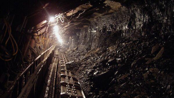 Uhelný důl. Ilustrační foto - Sputnik Česká republika