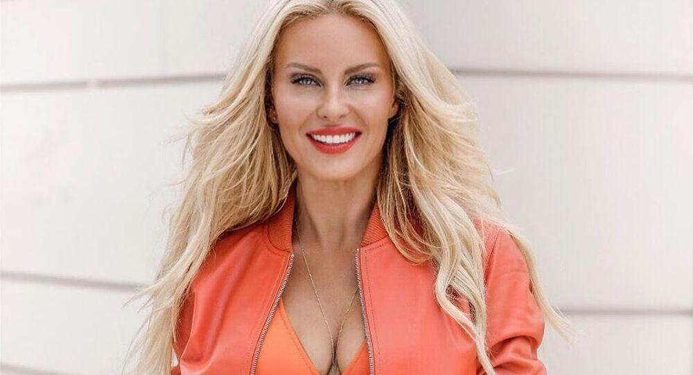 Česká modelka Simona Krainová