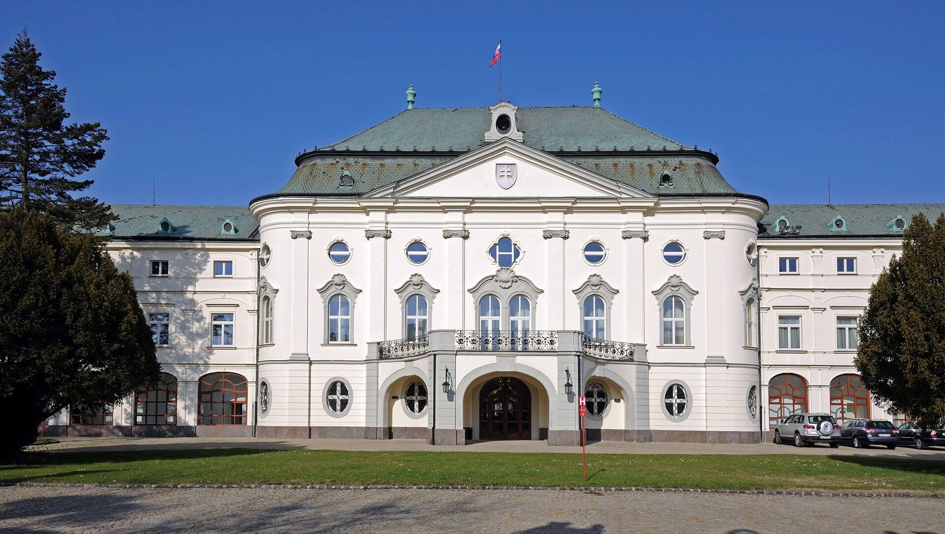 Sídlo Úřadu vlády Slovenské republiky, Letní arcibiskupský palác - Sputnik Česká republika, 1920, 17.03.2021