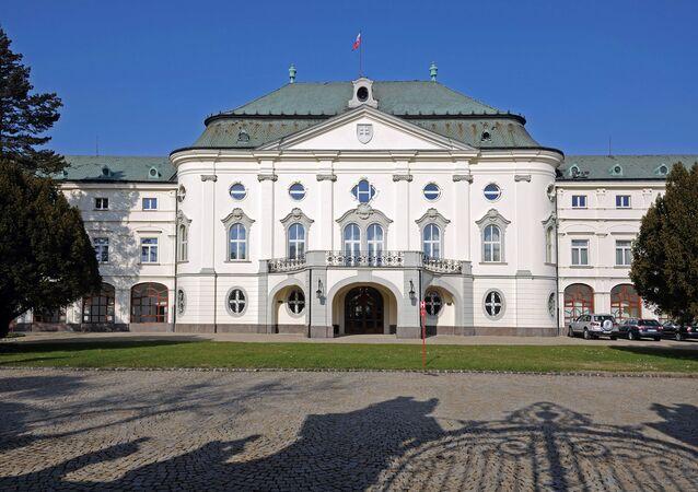 Slovenský vládní dům v Bratislavě