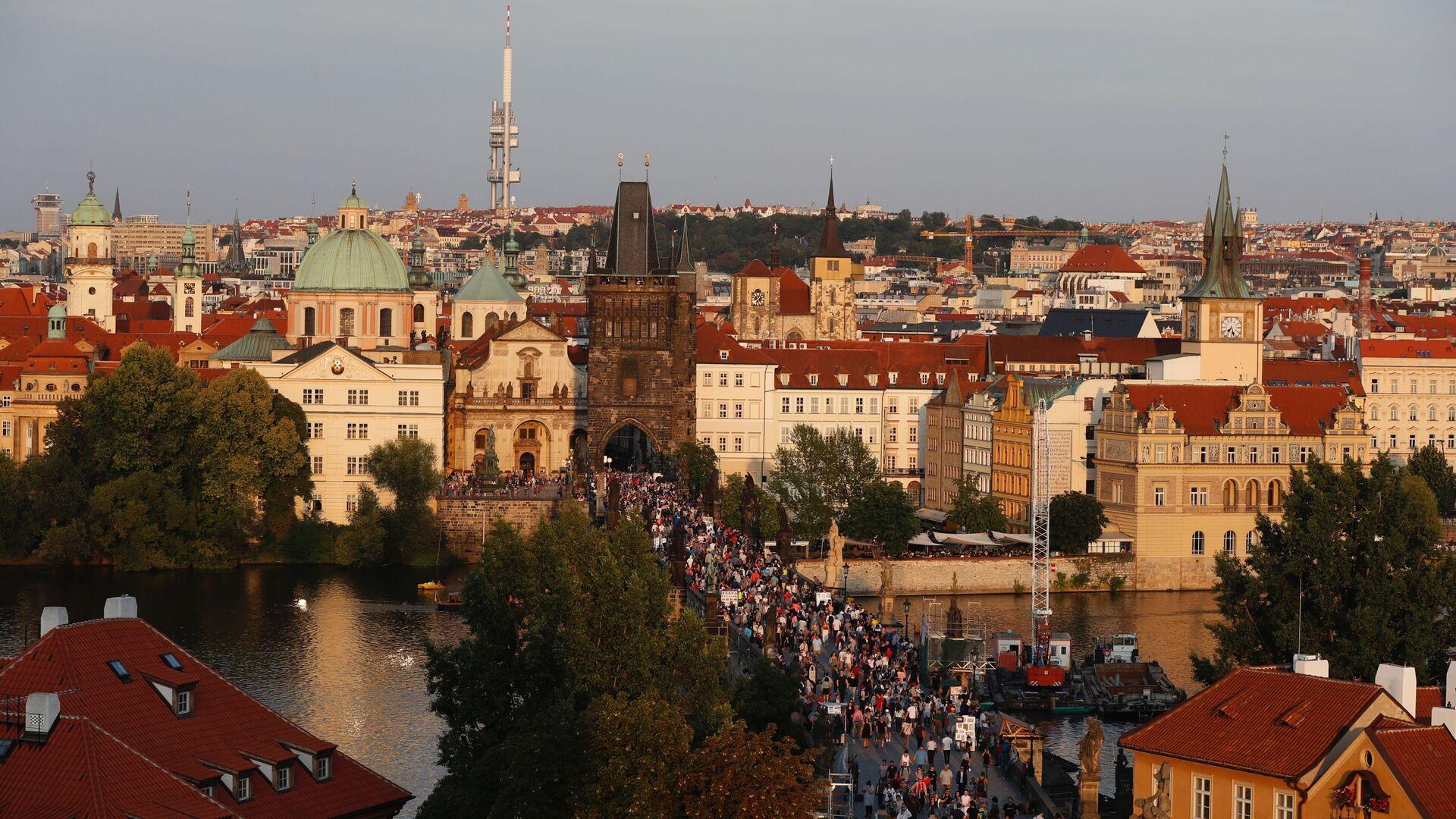Karlův most, Praha - Sputnik Česká republika, 1920, 31.05.2021