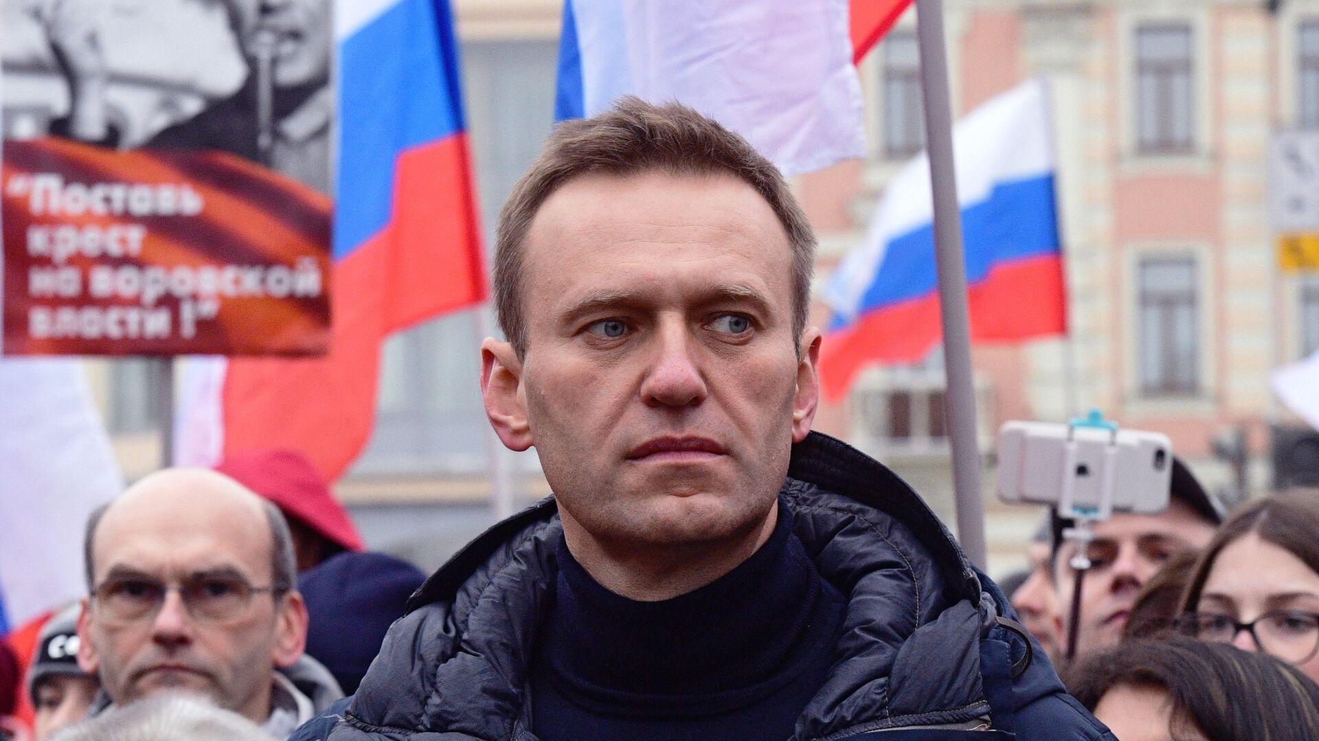 Ruský opozičník Alexej Navalnyj - Sputnik Česká republika, 1920, 10.07.2021