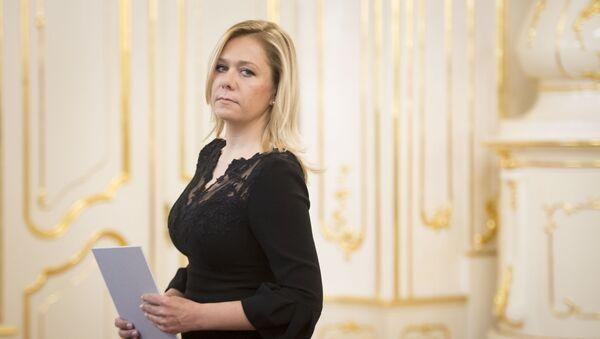 Ministryně vnitra SR Denisa Saková - Sputnik Česká republika