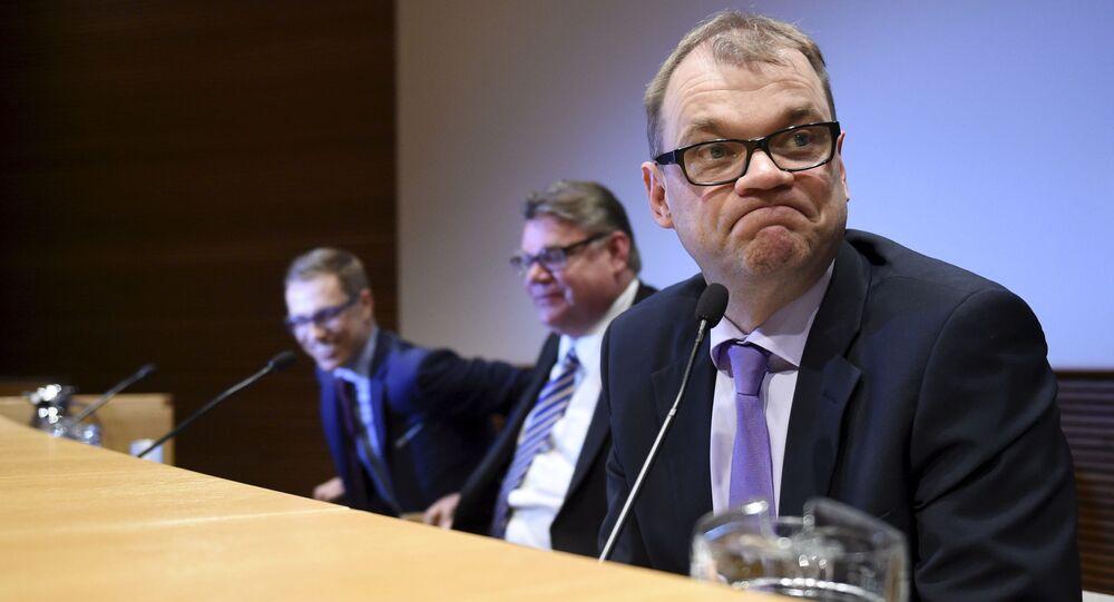Finský premiér Juha Sipilä