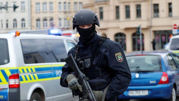 Policista v Německu - Sputnik Česká republika
