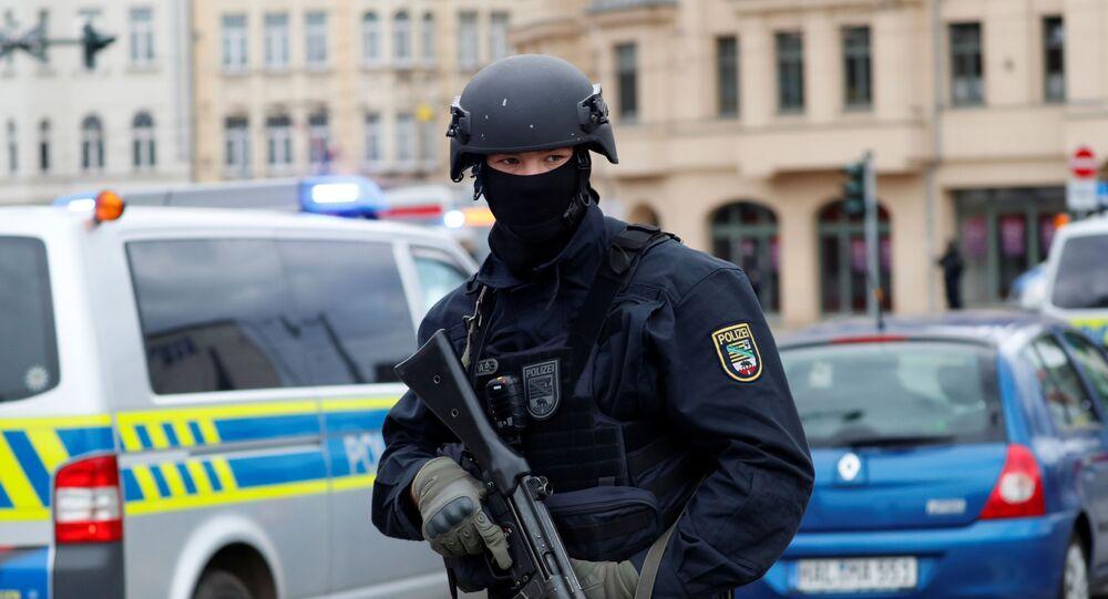 Policista v Německu