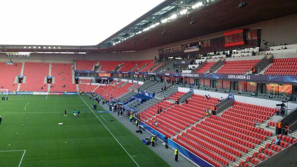 Fotbalový stadion českého klubu Slavia - Sputnik Česká republika