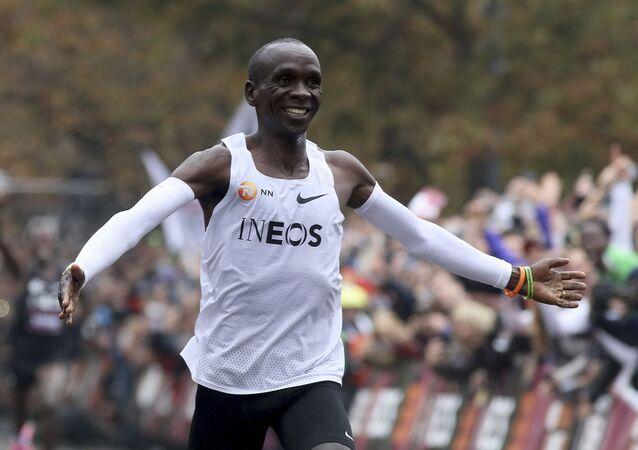 Keňský atlet Eliud Kipchoge